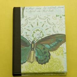 Large Butterfly vintage journal